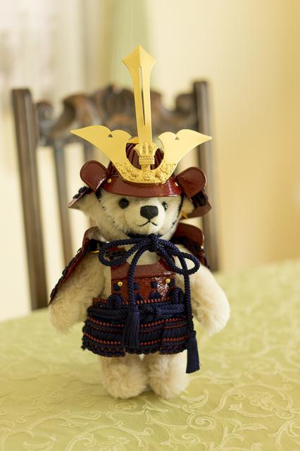 teddy bears008シュタイフのサムライ.jpg