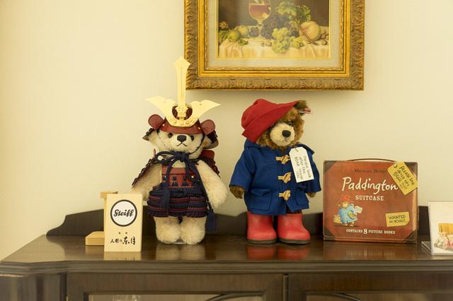 teddy bears010シュタイフのサムライとパディントン.jpg